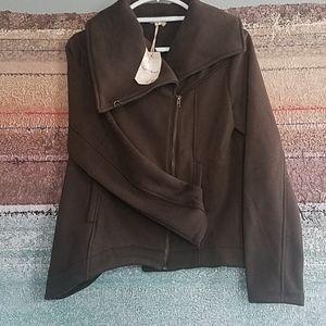 Hem & Thread asymmetrical  Jacket